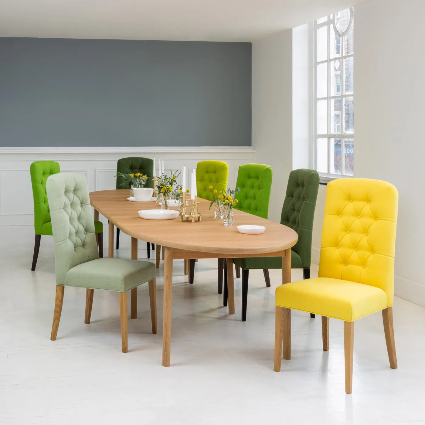 Heal S Ellipse Extending Dining Table 6 10 Seater Heal S