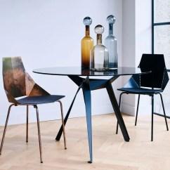 Real Good Chair Black High Back Cushions Blu Dot