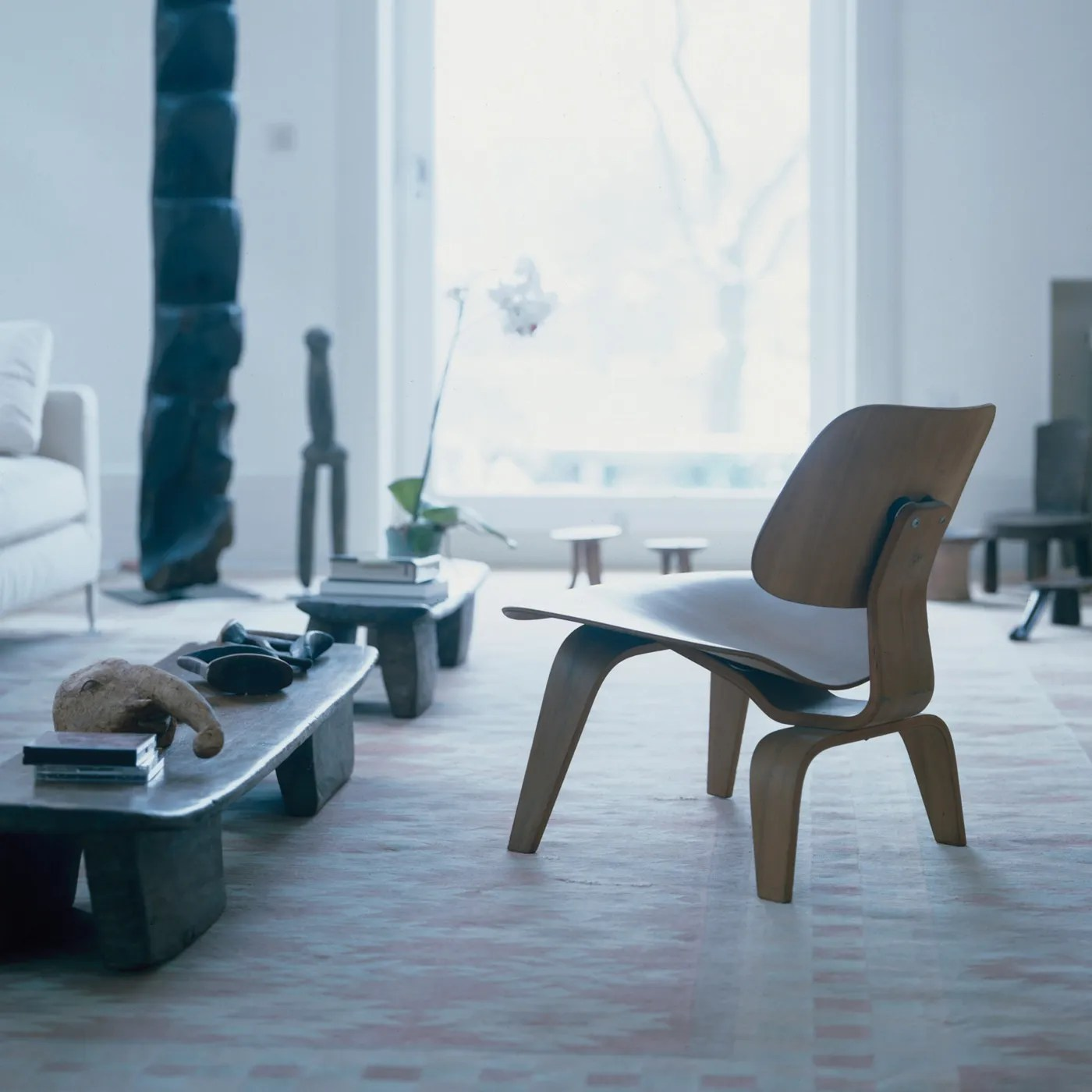 Vitra Eames Plywood Group LCW Chair  HEALS