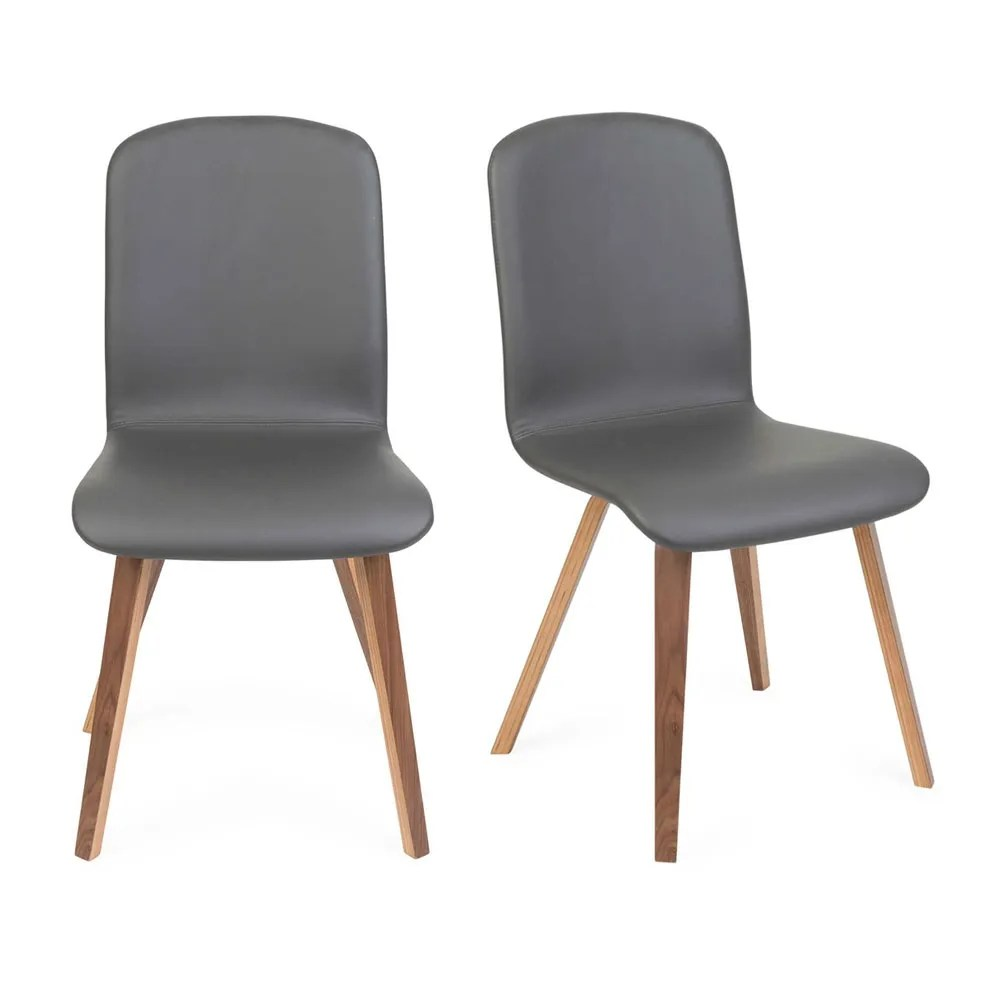 modern grey dining chairs uk large for lounge luxury heal s wyatt pair of