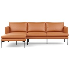 Modern Brown Leather Sofa Corner Cheap Sofas And Armchairs Contemporary Designer Matera Left Hand Facing Chaise