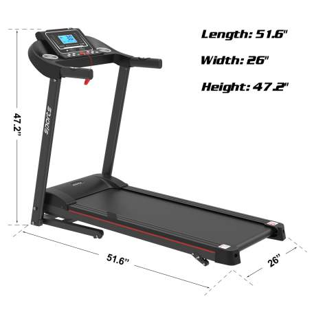 """Folding Treadmill, Smart Motorized Treadmill With Manual Incline And Air Spring & Mp3, Exercise Running Machine With 5\\\\\\\\\\\\\\\\\\\\\\\\\\\\\\\\\\\\\\\\\\\\\\\\\\\\\\\\\\\\\\\\\\\\\\\\\\\\\\\\\\\\\\\\\\\\\\\\\\\\\\\\\\\\\\\\\\\\\\\\\\\\\\\"""" Lcd Display For Home Use"""