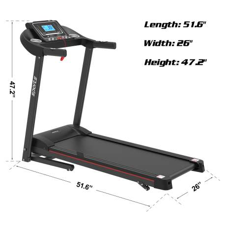 "Folding Treadmill, Smart Motorized Treadmill With Manual Incline And Air Spring & Mp3, Exercise Running Machine With 5\\\\\\\\\\\\\\\\\\\\\\\\\\\\\\\\\\\\\\\\\\\\\\\\\\\\\\\\\\\\\\\"" Lcd Display For Home Use"