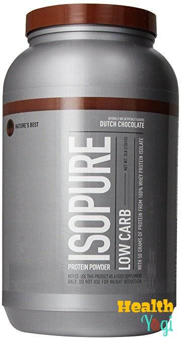 Isopure Low Carb protein supplement