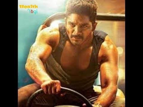 Allu Arjun workout routine and diet plan,gym