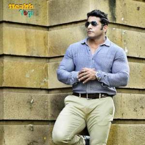 Bodybuilder Suhas Khamkar Stylish Fitness look
