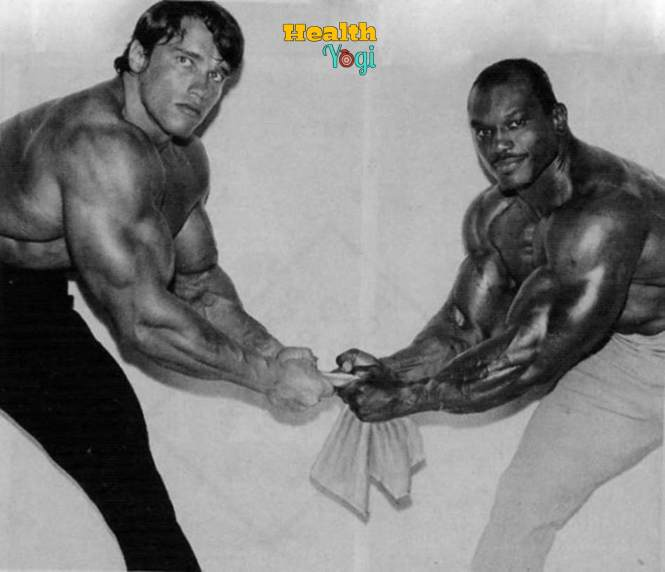 Sergio Oliva workout routine with arnold