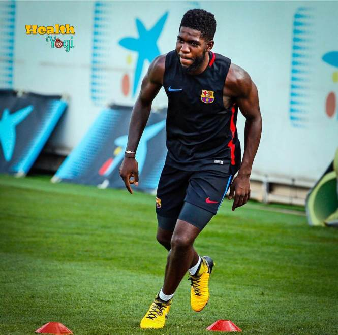 Samuel Umtiti Workout Routine and Diet Plan 2019