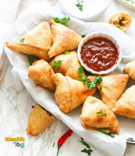 Fried Food: Samosa