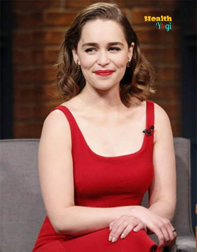 Emilia Clarke Cute Instagram Photo