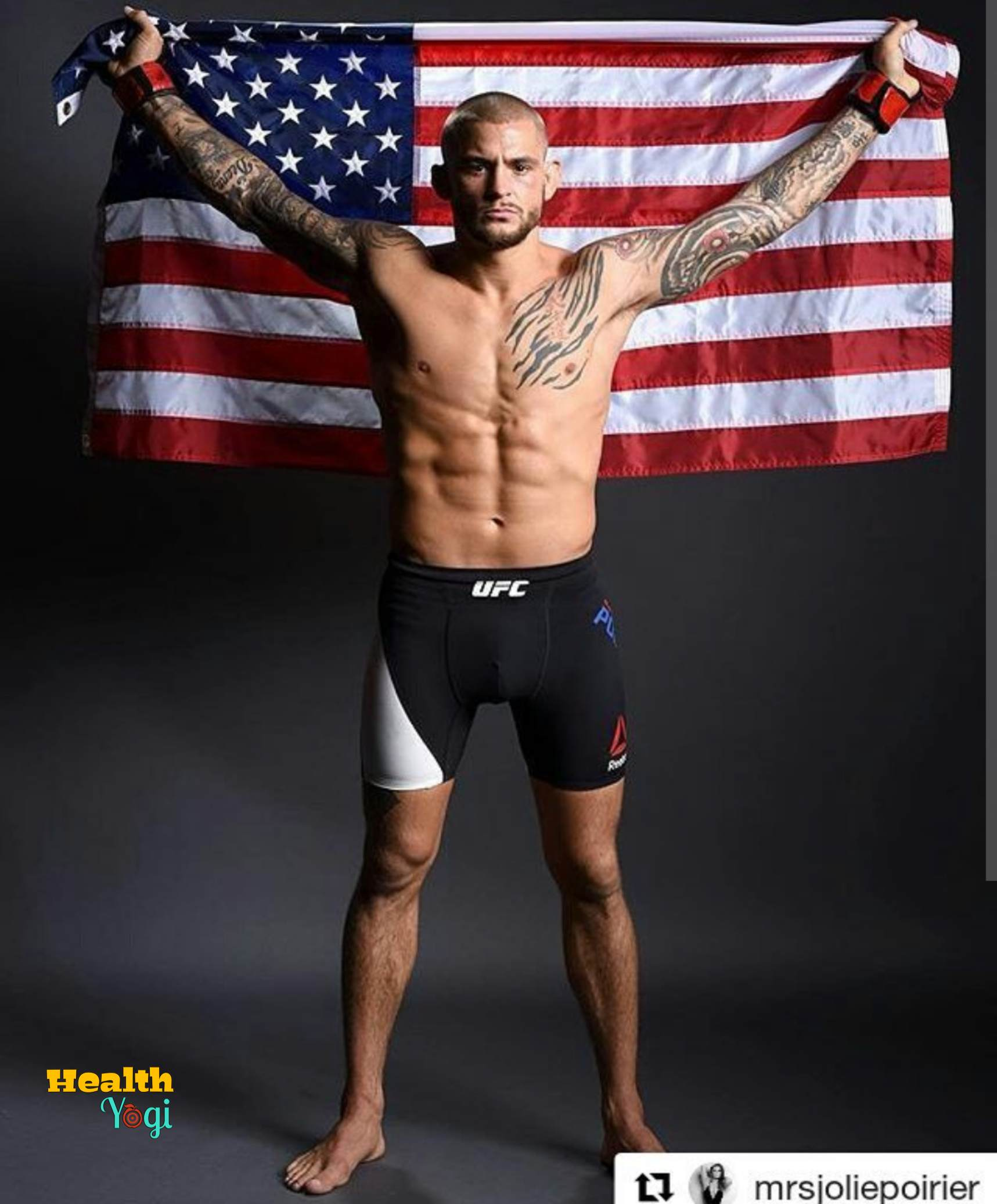 Dustin Poirier Diet Plan and Workout Routine