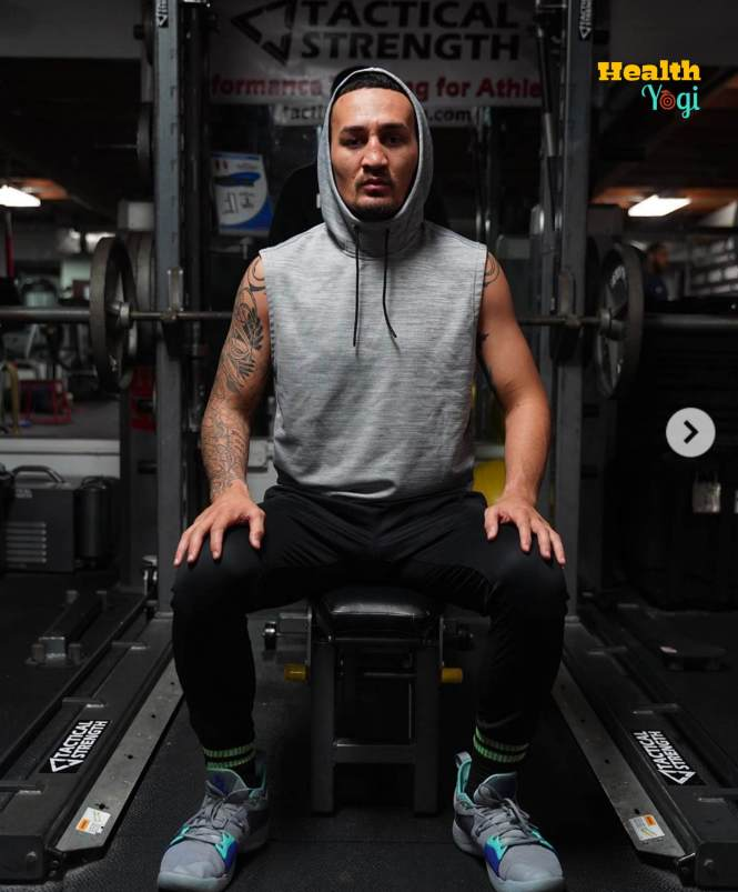 Max Holloway Diet Plan and Workout Routine