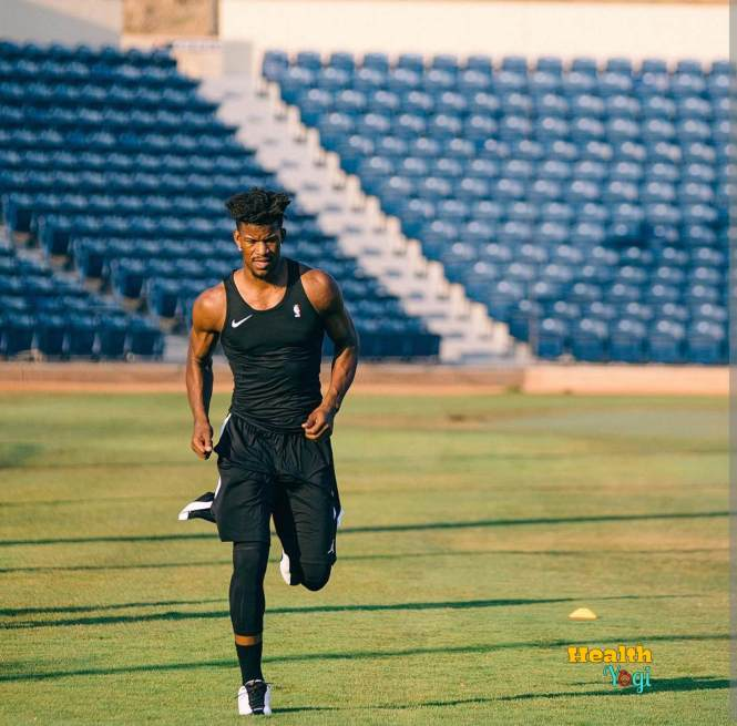 Jimmy Butler Instagram exercise Photo