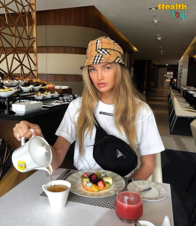 Romee Strijd Diet Plan