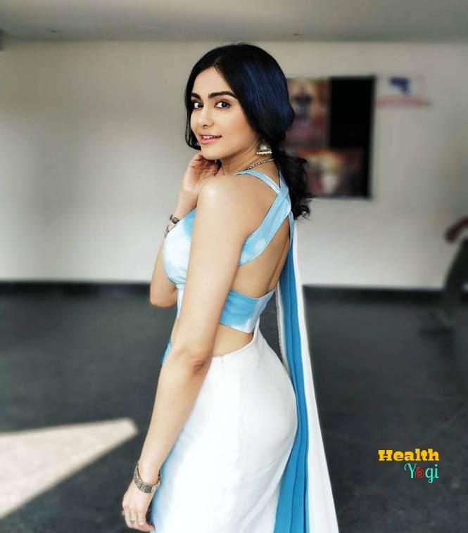 Beautiful Adah Sharma Hair care