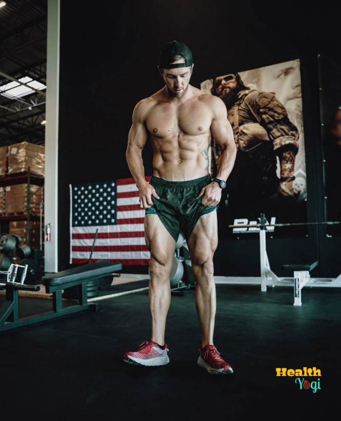 Nick Bare Legs workout