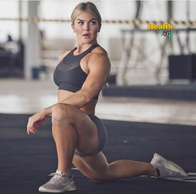Brooke Ence training