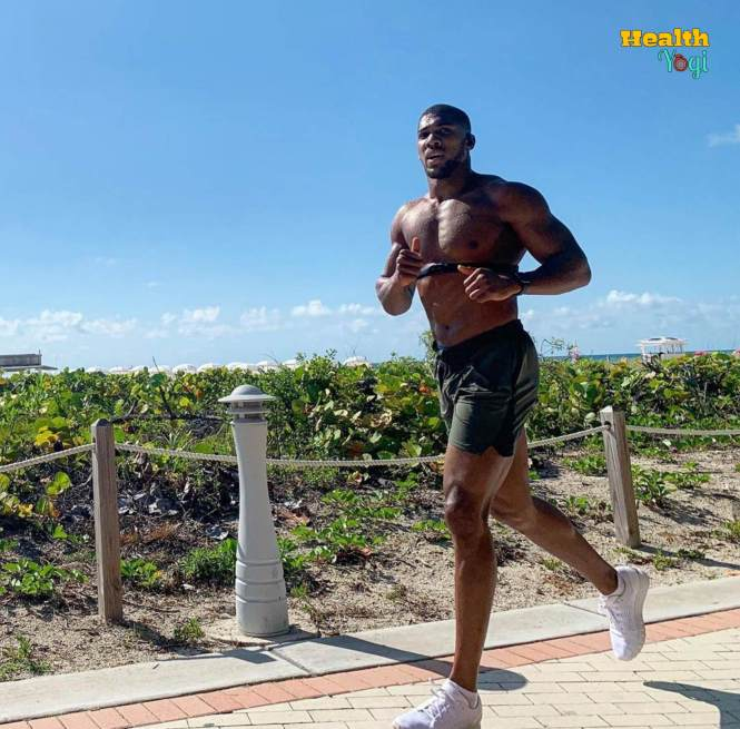 Anthony Joshua running