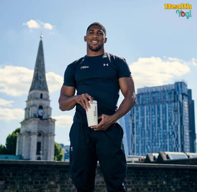 Anthony Joshua Diet Plan