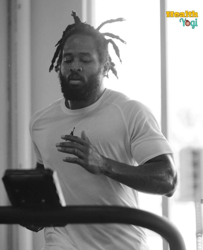 Earl Thomas Cardio training
