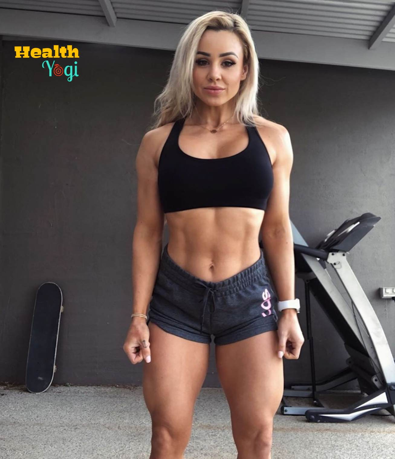 Stephanie Sanzo Workout Routine and Diet Plan