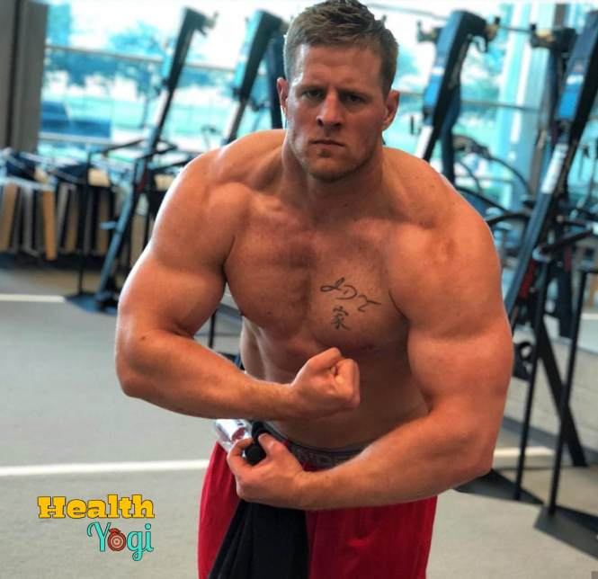 JJ Watt at gym