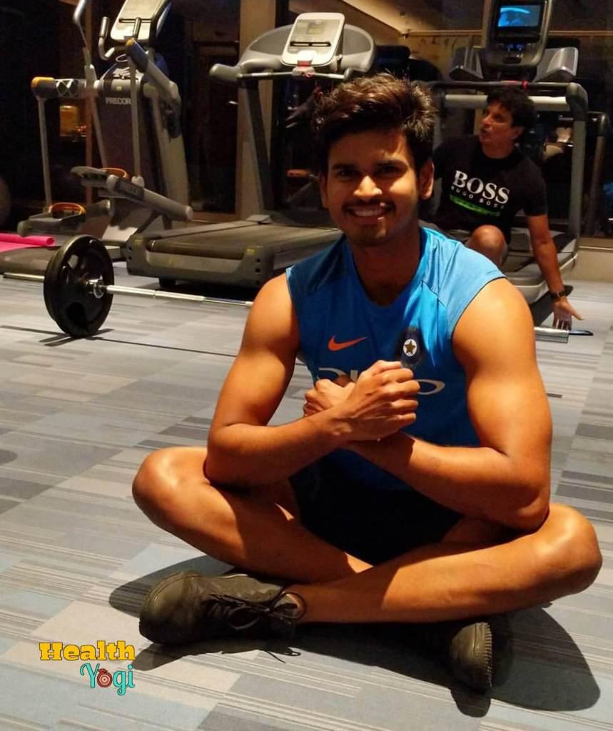 Shreyas Iyer Workout Routine and Diet Plan