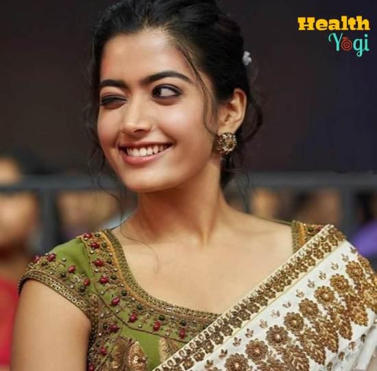 Rashmika Mandanna Cute Reaction