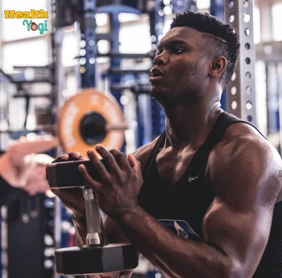 Zion Williamson Workout