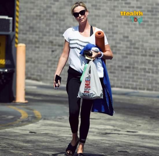 Charlize Theron Yoga