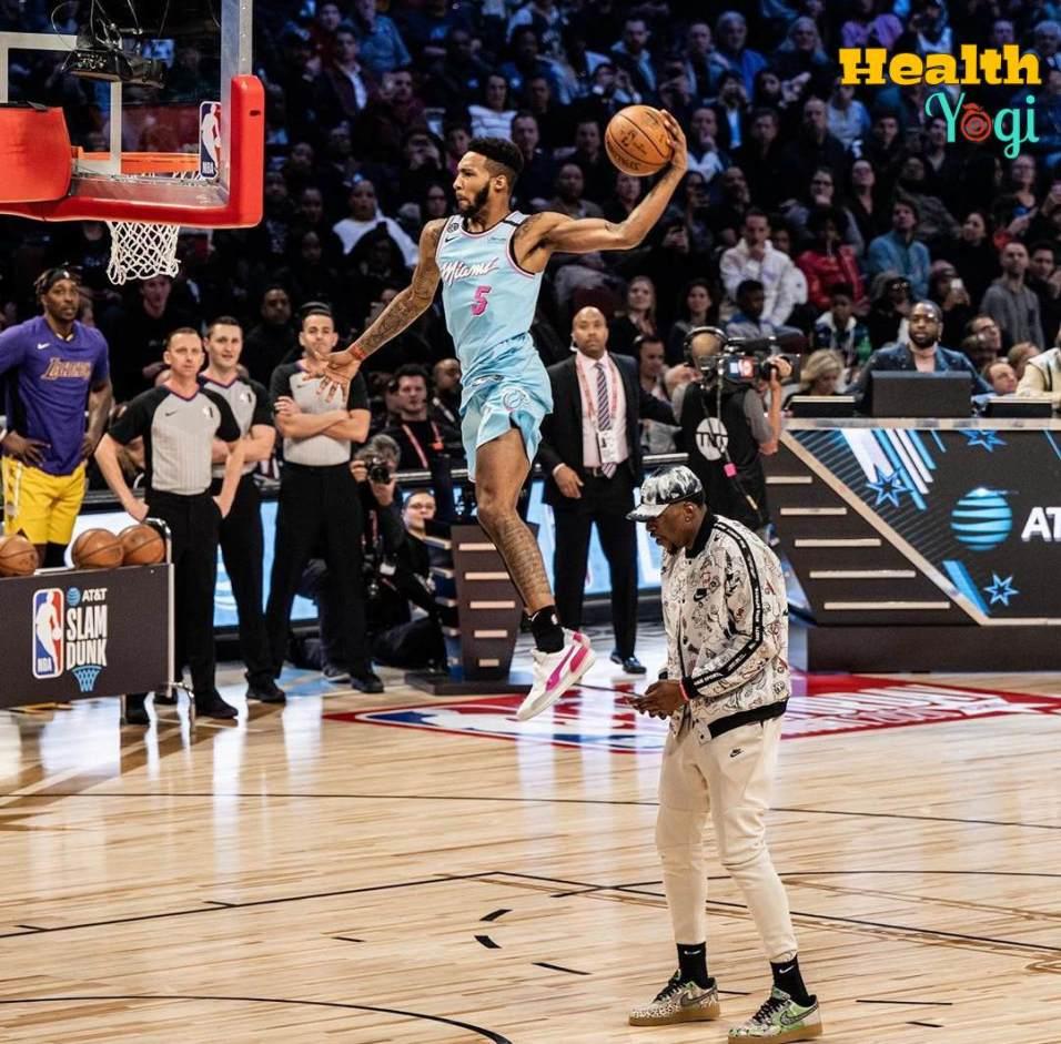 Derrick Jones Jr Vertical Jumps Exercise