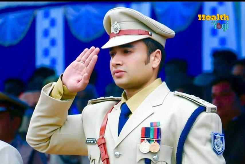 Sachin Atulkar In Uniform