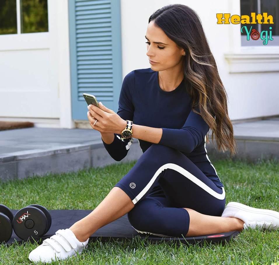 Jordana Brewster Workout Routine