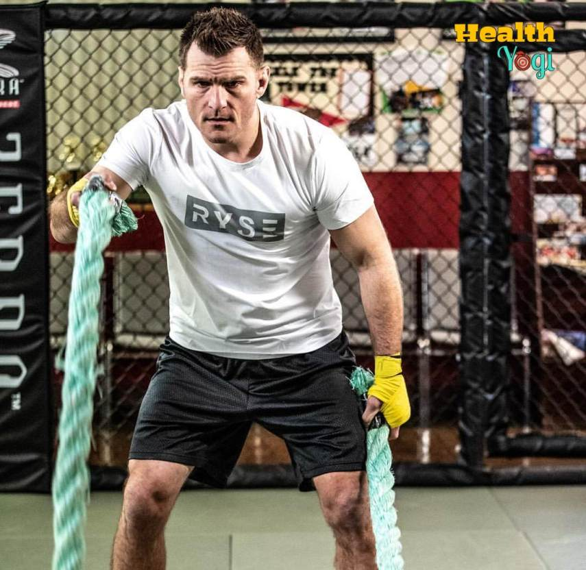 Stipe Miocic Workout Routine