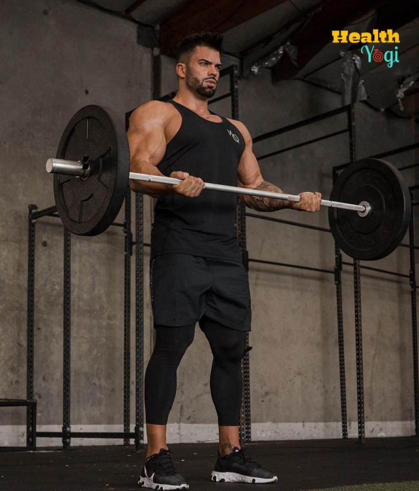 Sergi Constance Biceps Workout