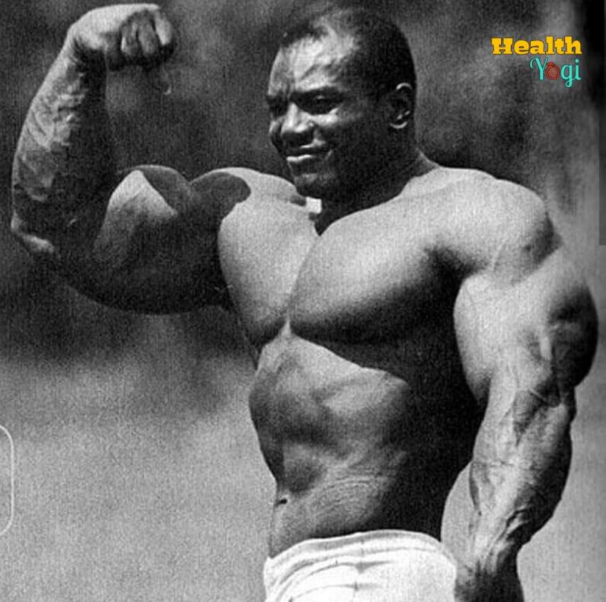 Sergio Oliva Workout Routine and Diet Plan