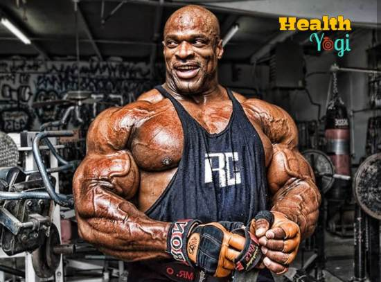 Ronnie Coleman Workout Routine and Diet Plan