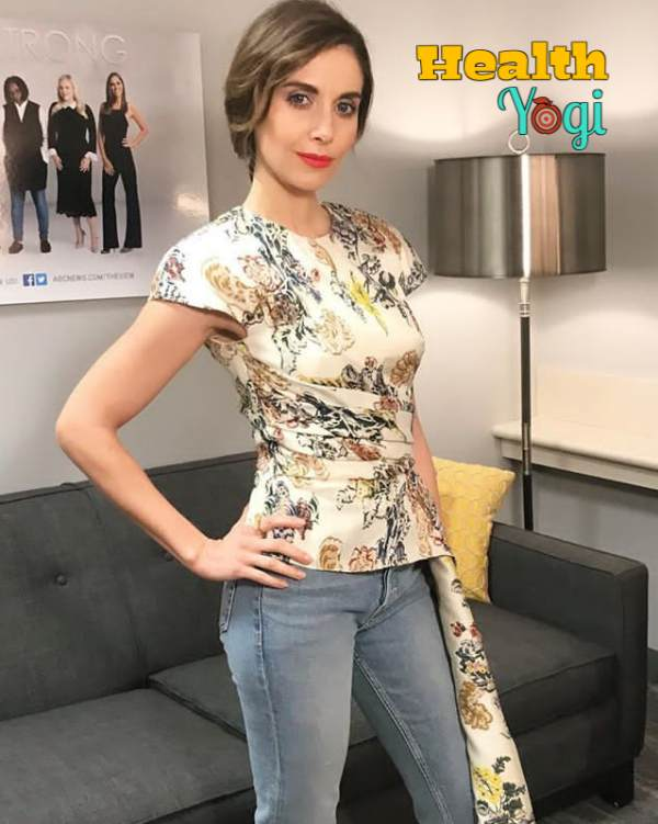 Alison Brie Workout Routine and Diet Plan [2020]