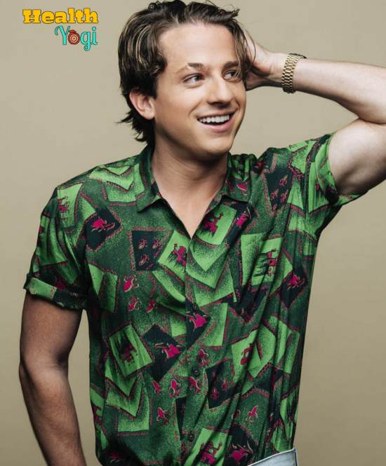 Charlie Puth Workout Routine and Diet Plan