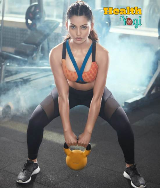 Urvashi Rautela Workout Routine