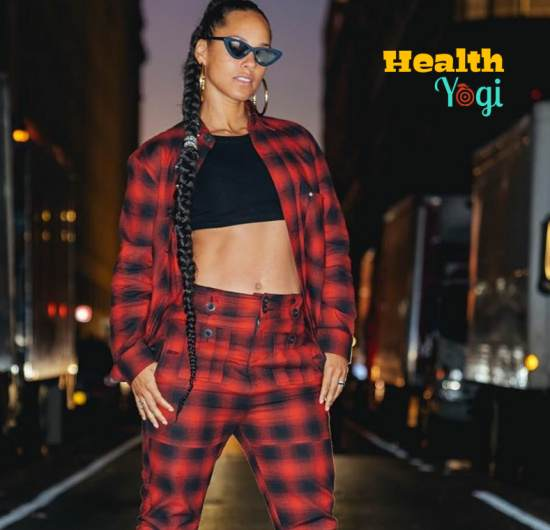 Alicia Keys exercise and meal