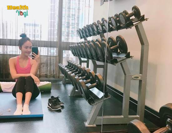 Jessica Jung Workout Routine