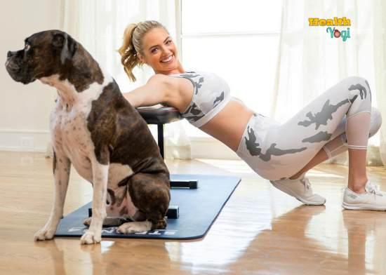 Kate Upton exercise