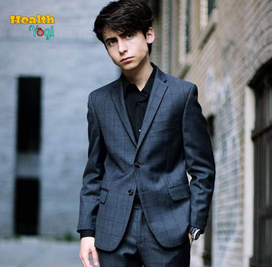 Aidan Gallagher Workout Routine and Diet Plan
