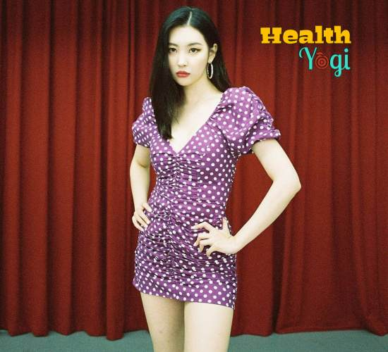 Sunmi Workout Routine and Diet Plan