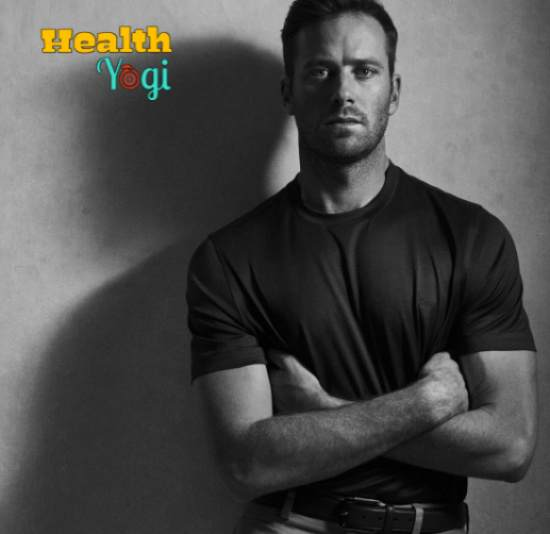 Armie Hammer Workout Routine and Diet Plan