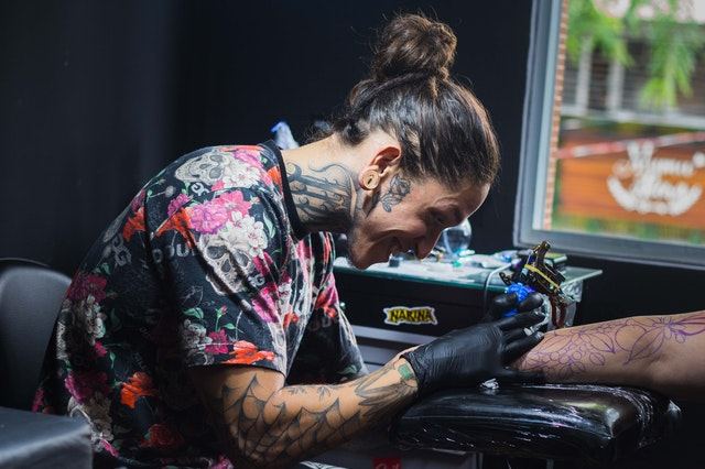 The tattoo aftercare