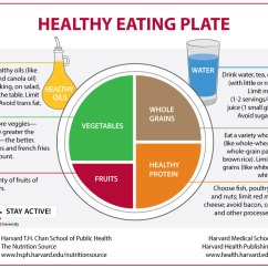 Harvard Food Plate Diagram 71 Chevelle Dash Wiring Comparison Of The Healthy Eating And Usda's Myplate - Health
