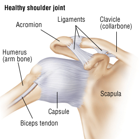 Shoulder Sprain - Harvard Health