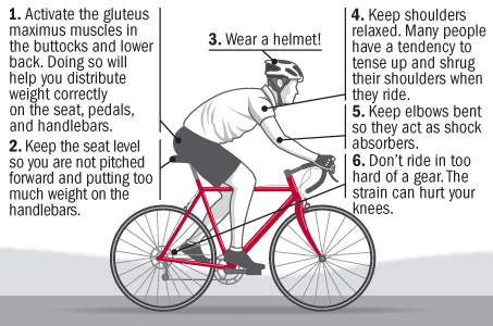 9 cycling tips